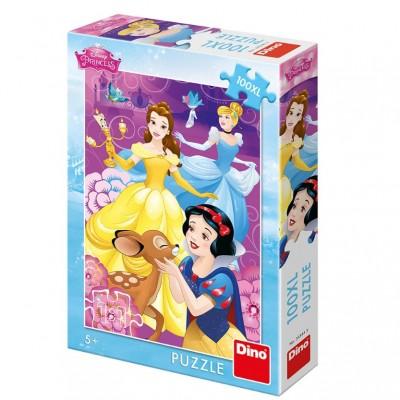 Puzzle Dino-34344 Pièces XXL - Disney Princess
