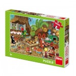 Puzzle  Dino-34345 Pièces XXL - La Petite Taupe