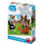 Puzzle  Dino-35018 Pièces XXL - La Petite Taupe