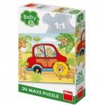 Puzzle  Dino-35019 Pièces XXL - Safari