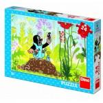 Puzzle  Dino-35154 La Petite Taupe
