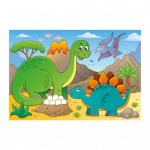Puzzle  Dino-37130 Dinosaures