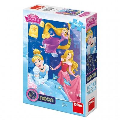 Dino-39416 Puzzle Néon - Pièces XXL - Princess Disney