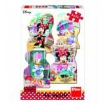 4 Puzzles - Minnie et Daisy