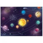 Puzzle  Dino-47222 Pièces XXL - Système Solaire