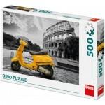 Puzzle  Dino-50231 Scooter au Colisée