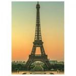 Puzzle  Dino-50246 La Tour Eiffel au Crépuscule