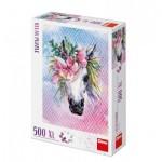 Puzzle  Dino-51403 Pièces XXL - Licorne