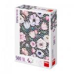 Puzzle  Dino-51405 Pièces XXL - Fleurs