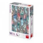 Puzzle  Dino-51406 Pièces XXL - Plumes