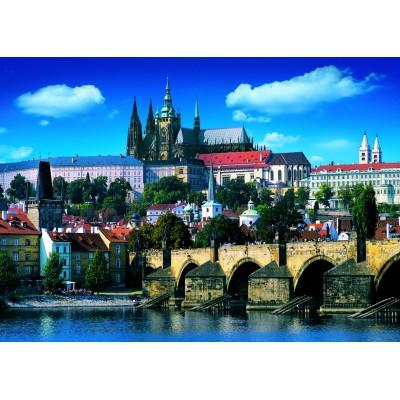 Puzzle Dino-53150 Pont Charles, Prague