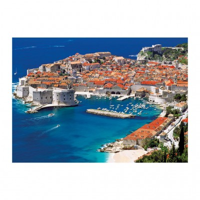 Puzzle Dino-53266 Dubrovnik, Croatie
