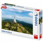 Puzzle  Dino-53269 Ještěd, République Tchèque