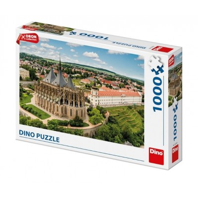Puzzle Dino-53270 Kutná Hora, République Tchèque