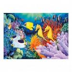 Dino-54118 Puzzle Néon - Sous la Mer