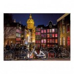 Dino-54124 Puzzle Néon - Amsterdam