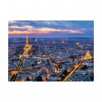 Dino-54126 Neon Puzzle - Paris