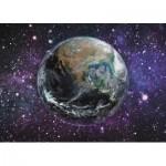 Dino-54128 Neon Puzzle - La Terre