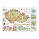 Puzzle  Dino-56117 Carte de la République Tchèque