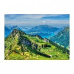 Puzzle  Dino-56313 Montagnes Suisses