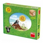 Dino-64106 Puzzle Cubes en Bois - La Petite Taupe