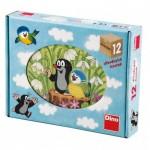 Dino-64112 Puzzle Cubes en Bois - La Petite Taupe
