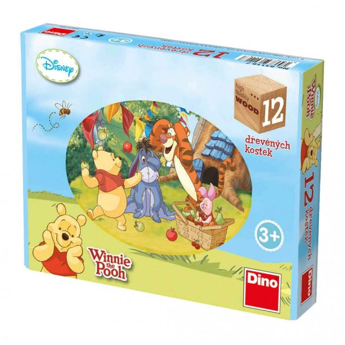 Puzzle Cubes en Bois - Winnie l'Ourson
