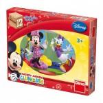 Dino-64117 Puzzle Cubes en Bois - Mickey