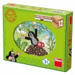 Dino-64121 Puzzle Cubes en Bois - La Petite Taupe