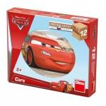 Dino-64122 Puzzle Cubes en Bois - Cars