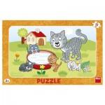 Puzzle Cadre - Chats