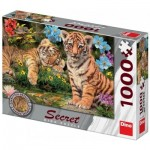 Secret Puzzle - Bébés Tigres