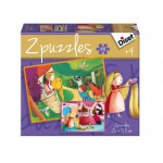 Jumbo-69969 2 Puzzles - Raiponce
