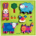 Djeco-01040 Puzzle en Bois - Nouki