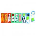 Djeco-01551 9 Puzzles  en Bois - Premiers puzzles - Drôles d'animaux