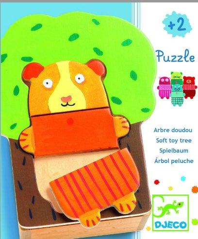 Puzzle Djeco-01681 Arbre Doudou