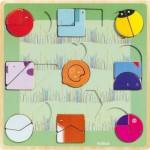 Djeco-01805 Puzzle en Bois - Ludiform