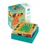 Djeco-01903 Puzzle en Bois - Wouaf & Co