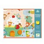 Puzzle  Djeco-07012 Pièces XXL - Surprise