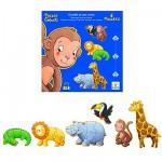 Djeco-07114 6 Puzzles - Ouistiti et ses Amis