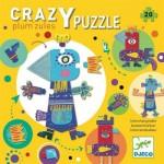 Djeco-07124 Puzzle Géant Plum'zules