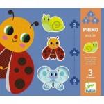Djeco-07141 3 Puzzles Evolutifs - Dans le Jardin