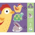 Djeco-07142 3 Puzzles Evolutifs - Dans les Près