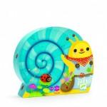 Djeco-07219 Puzzle Silhouette - La Cueillette de l'Escargot