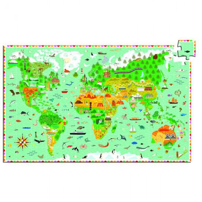 Puzzle observation - Monuments du Monde