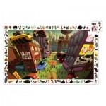 Djeco-07459 Puzzle Observation - Ville du Futur