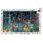 Djeco-07504 Puzzle Observation - Forêt Enchantée