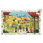 Puzzle  Djeco-07561 Poster et jeu d'observation : Les contes