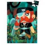 Djeco-07671 Mini Puzzle - Sam Parrot