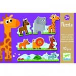 Puzzle  Djeco-08167 Petits et Grands